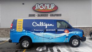 We specialize in vehicle and trailer wraps