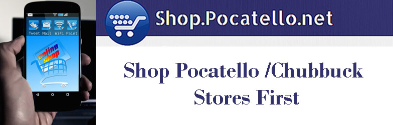 Pocatello.net Shop Pocatello logo
