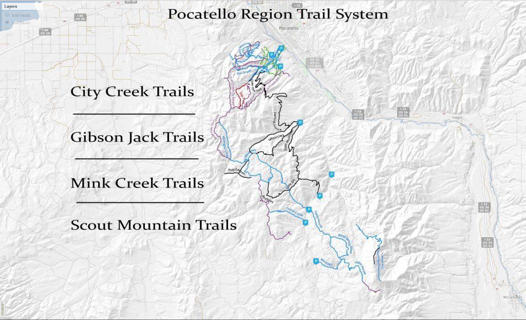 Hiking, Biking, ATV Trails - Pocatello Region
