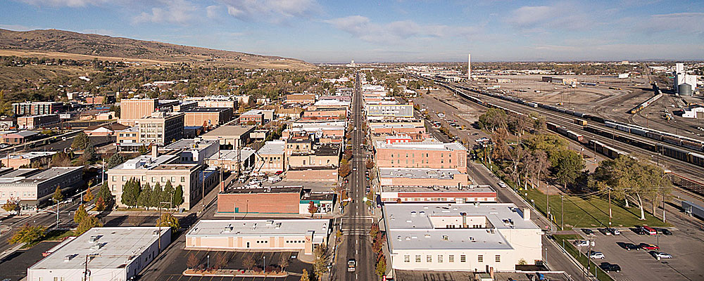 Old Town Pocatello Looking North